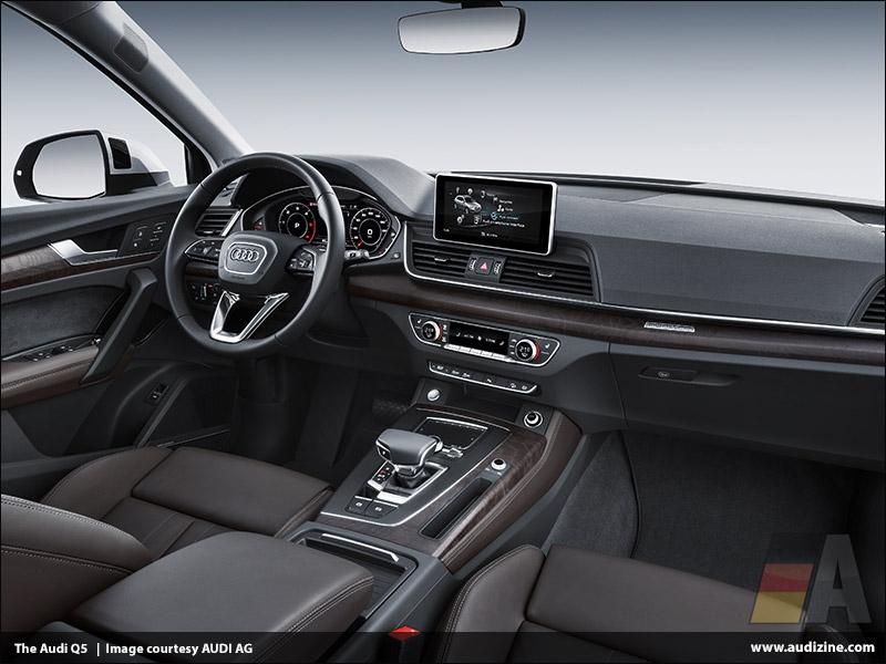 The second generation Audi Q5, Interior - AUDI AG