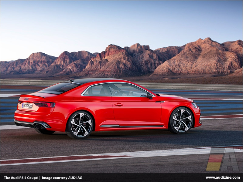 The Audi RS 5 Coupé, Misano Red - AUDI AG