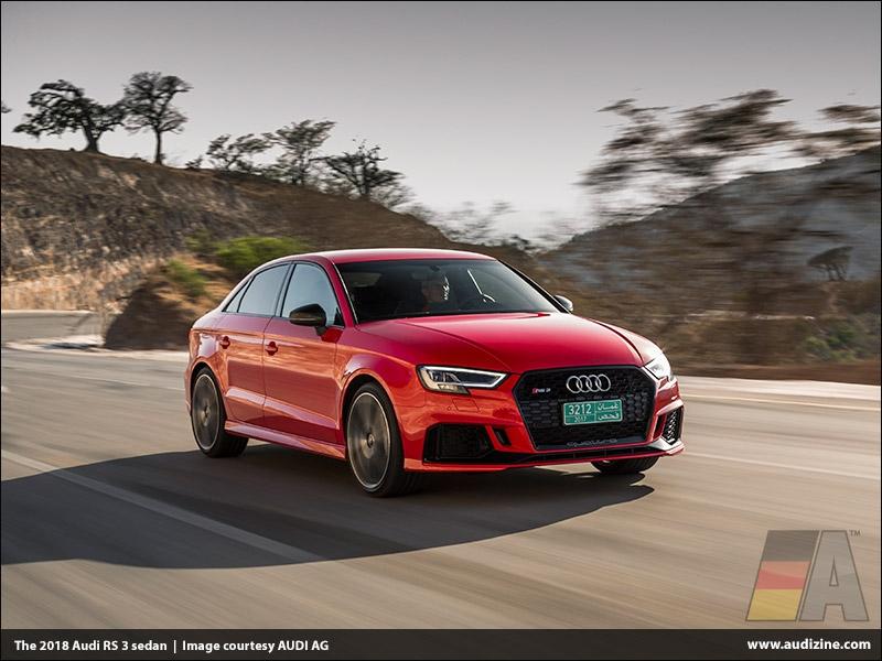 The 2018 Audi RS 3 sedan - AUDI AG