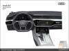 The Audi A7 Sportback, Dashboard - AUDI AG