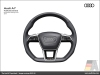 The Audi A7, Multifunction steering wheel - AUDI AG