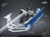 The Audi A7, Laser spot - AUDI AG