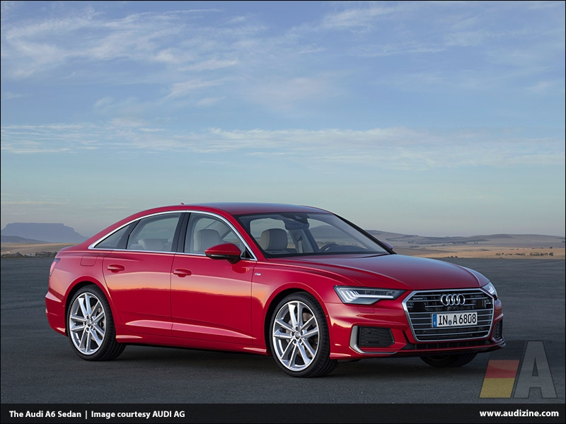 The Audi A6 Sedan, Tango Red - AUDI AG