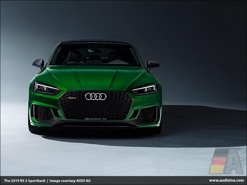 The 2019 Audi RS 5 Sportback, Sonoma Green - AUDI AG