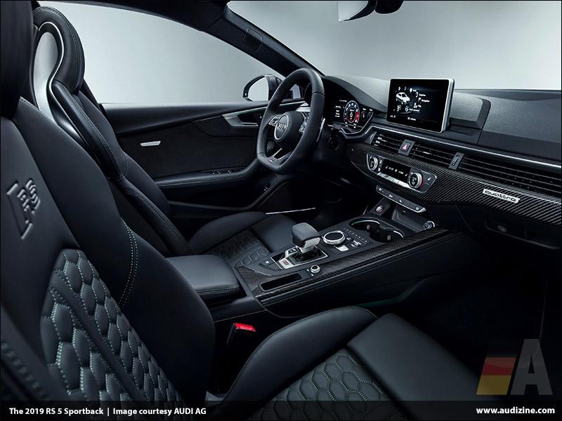The 2019 Audi RS 5 Sportback, Interior - AUDI AG