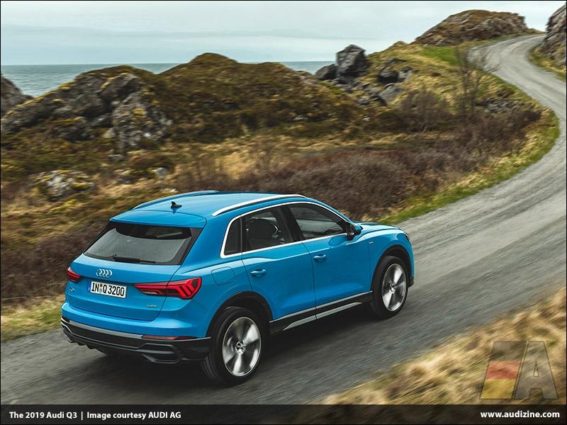 The 2019 Audi Q3, Turbo Blue - AUDI AG