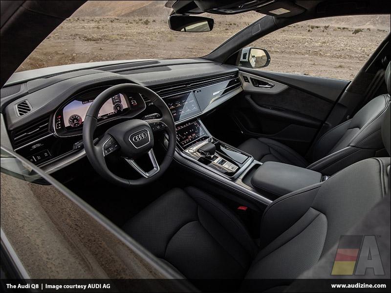 The 2019 Audi Q8, Interior - AUDI AG