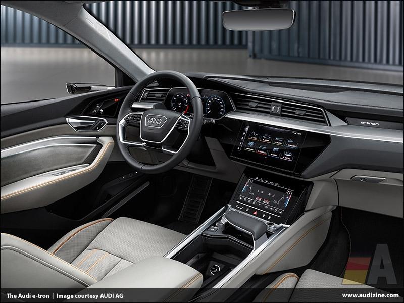 The 2019 Audi e-tron, Interior - AUDI AG