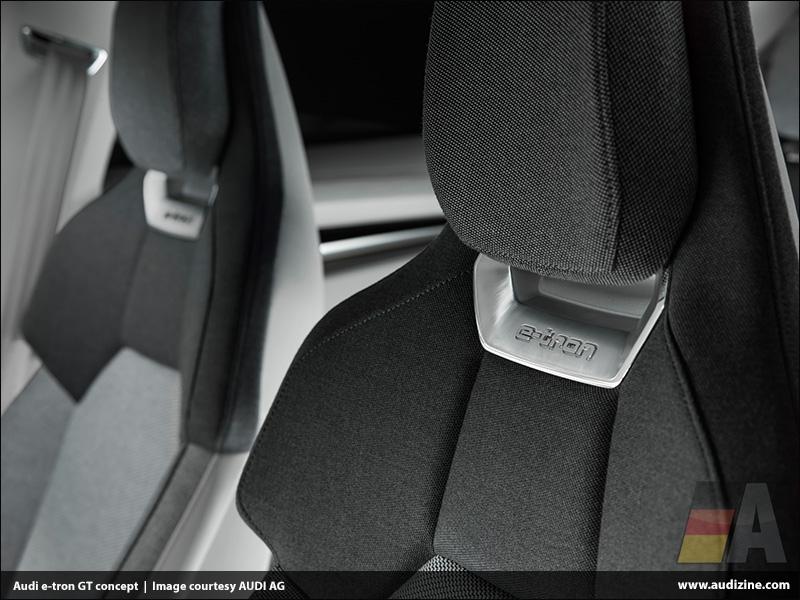 The Audi e-tron GT concept, Interior - AUDI AG