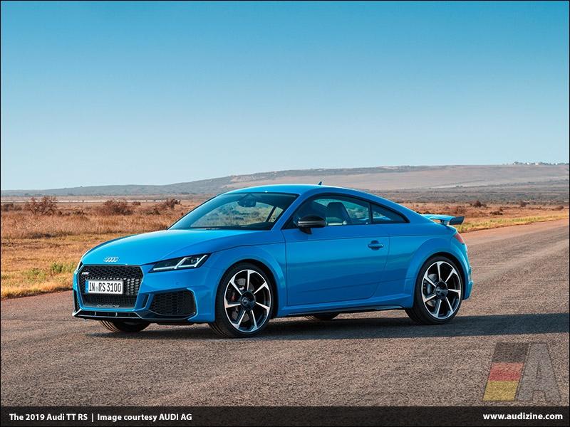 The 2019 Audi TT RS - AUDI AG