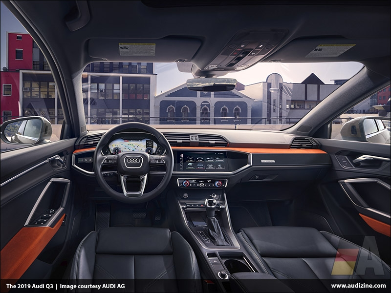 The 2019 Audi Q3, Interior - AUDI AG