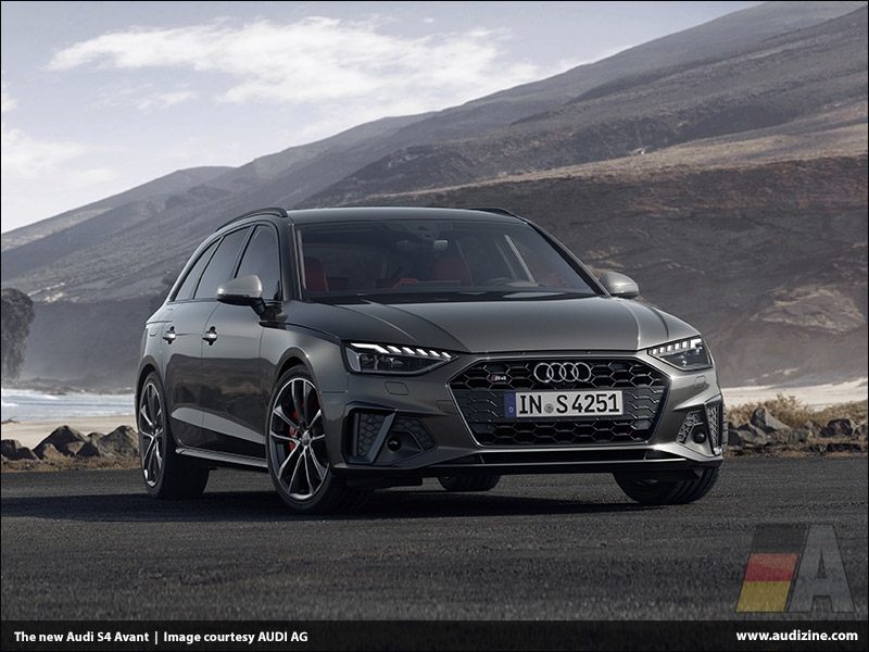 The new Audi S4, Daytona Gray - AUDI AG