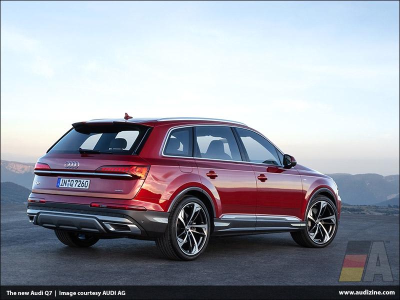 The new Audi Q7, Matador Red - AUDI AG