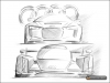 Drawing by Wolfgang Egger - Audi AG