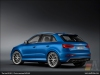 The Audi RS Q3 in Ara Blue crystal effect - AUDI AG
