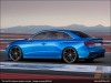 The Audi A3 clubsport quattro concept in Magnetic Blue - AUDI AG