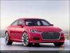 The Audi TT Sportback concept, Mars Red - AUDI AG