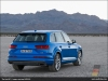 The Audi Q7 in Ara Blue crystal effect - AUDI AG