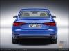 The Audi A4 2.0 TFSI quattro in Ara Blue - AUDI AG