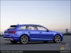 The Audi S4 Avant, Ara Blue - AUDI AG