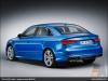 The Audi A3 sedan, Ara Blue - AUDI AG