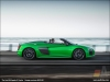 The Audi R8 Spyder V10 plus, Micrommata Green - AUDI AG