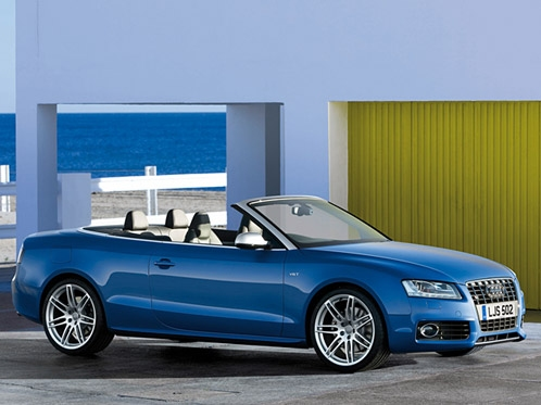 Supercharged Audi S5 Cabriolet Breezes In