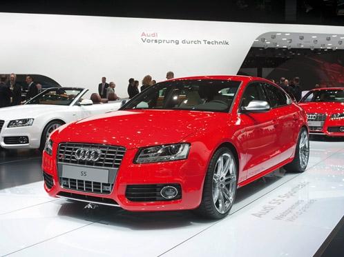 Frankfurt IAA 2009: The Audi S5 Sportback, particularly elegant sportiness
