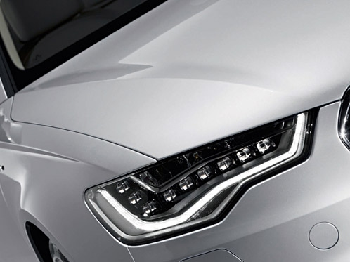 Audi Lights the way with the New A6 Sedan