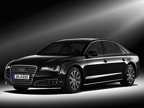 High-security version of the Audi A8 soon to be launched