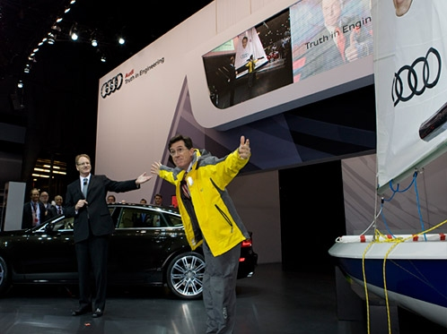 Audi partners with comedian Stephen Colbert for 2011 Charleston Bermuda Race