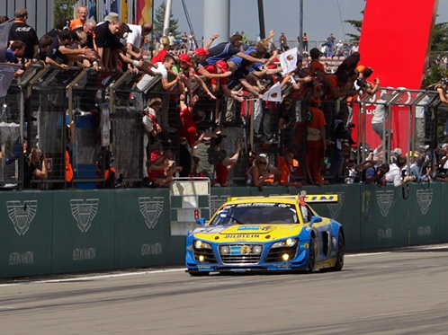 Audi celebrates class victories on the Nordschleife