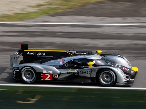 Audi R18 TDI in third place at Imola