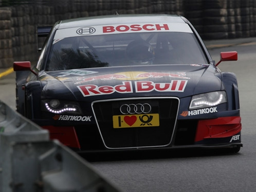 Tomczyk shines again in year-old Audi