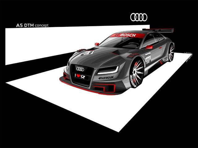 DTM 2012: Audi banks on A5