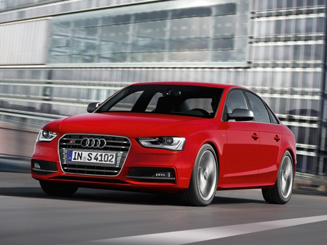 The New Audi A4 and S4 for 2013 Model Year