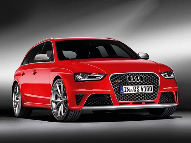 The Audi RS 4 Avant