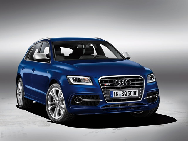 The new Audi SQ5 TDI: Twin-turbo V6 diesel with 313 hp