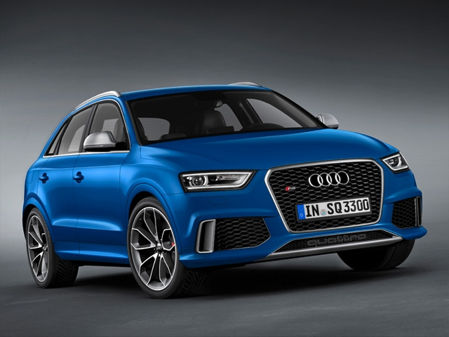 First RS model in the Q series: Audi RS Q3
