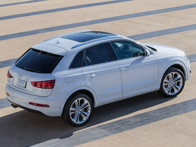 Audi enters the premium compact class of SUVs with sporty versatile new 2015 Q3