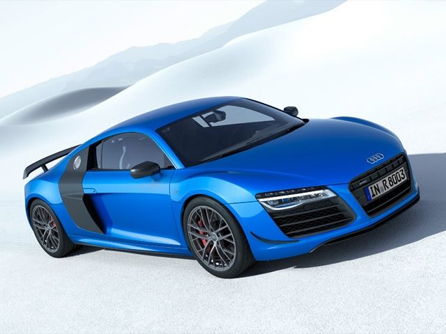 The Audi R8 LMX - world's first production car with laser high beams