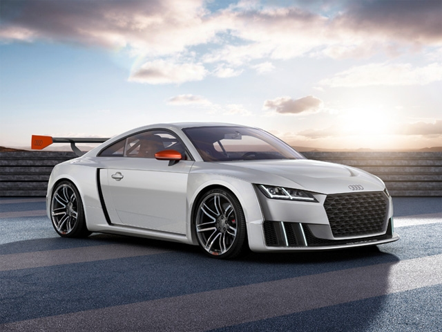 Tremendous thrust from the start: Audi TT clubsport turbo technology concept car