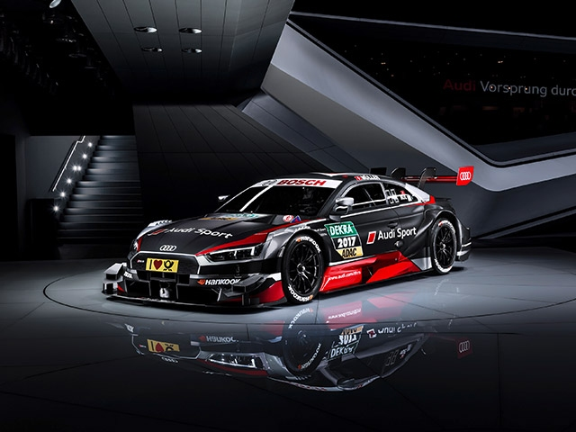 World premiere in Geneva: the new Audi RS 5 DTM