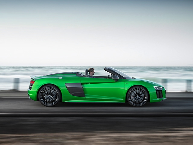 Audi Sport at the Monterey Car Week