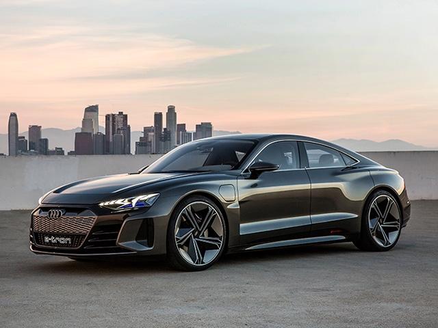 The Audi e-tron GT concept makes debut at Los Angeles Auto Show