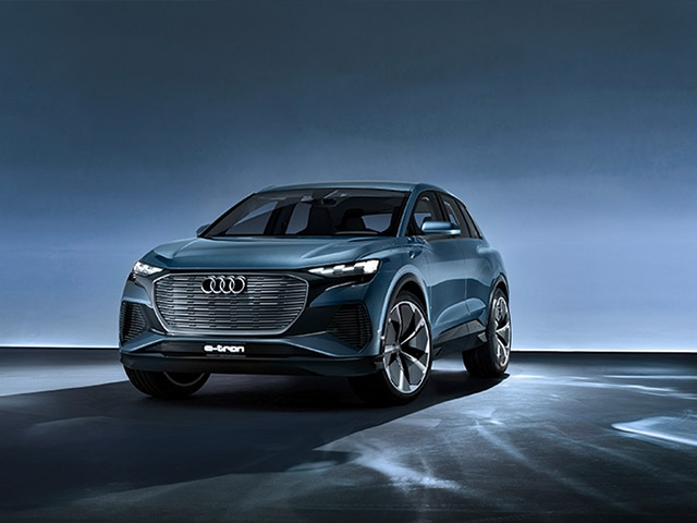 Advance Look at the Series: The Audi Q4 e-tron concept