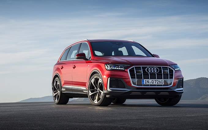 Taken to the next level: new edition of the Audi Q7